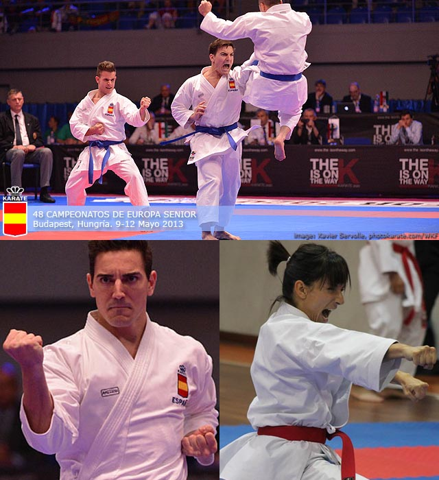 Oro España Katas Karate 1 Premier League – Lotto Dutch Open 2014 – Almere Nederland (Holanda)
