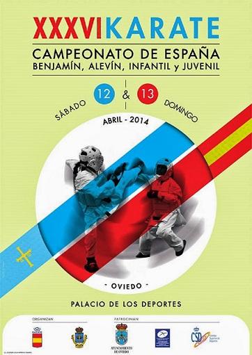 XXXVI Campeonato de España de Karate Infantil 2014