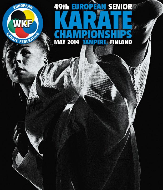 49 Campeonato Europeo de Karate Senior 2014 Tampere, Finlandia