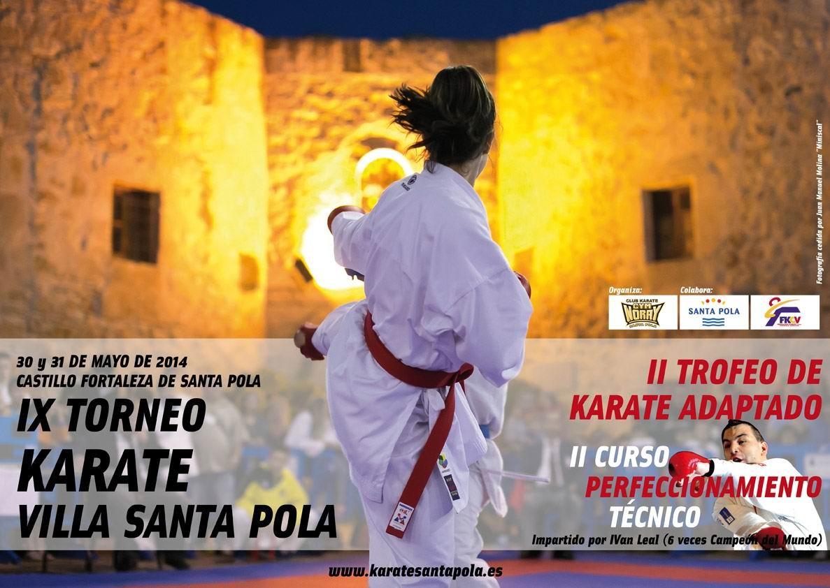 Torneo Internacional de Karate Villa de Santa Pola 2014