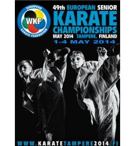 Campeonato Europeo de Karate 2014 Resultados