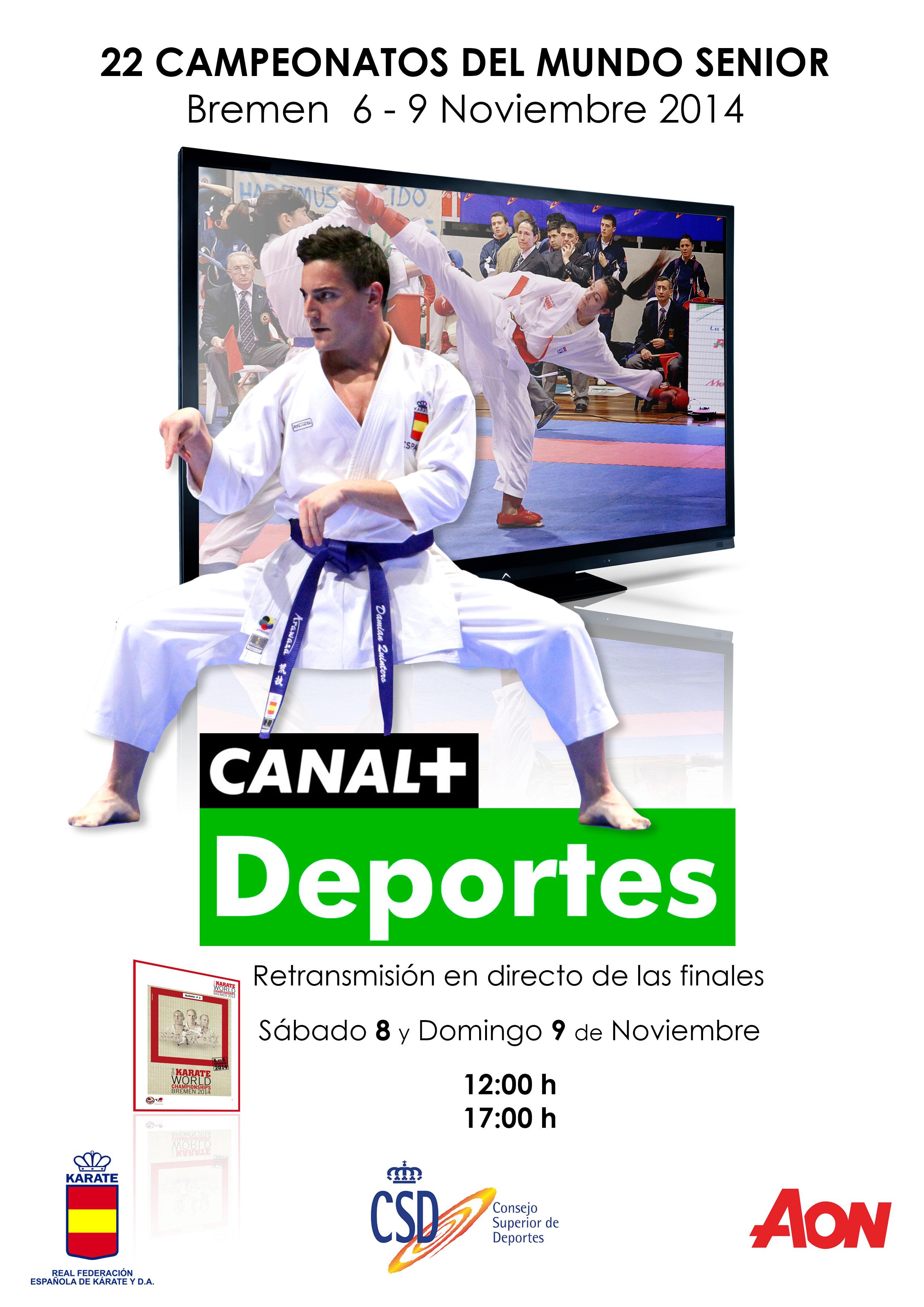 Campeonato del Mundo de Karate 2014 · Bremen en Canal+ Deportes