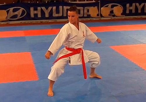 Yaiza Martín · Karate 1 · Grand Final · Salzburg · 2014