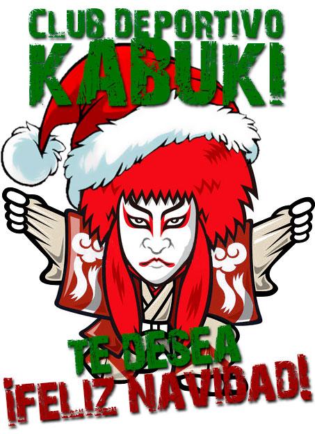 El Club Deportivo Kabuki te desea felices fiestas