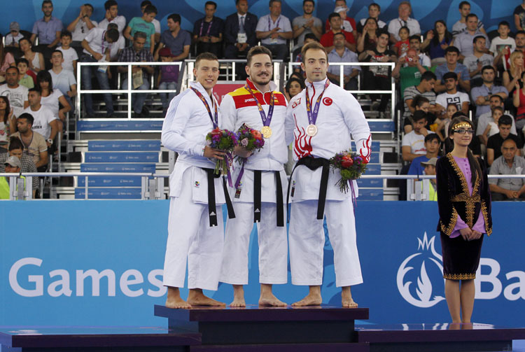 Bakú 2015, el kárate consigue dos medallas