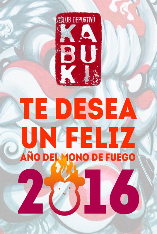 Feliz año 2016 - C.D. Kabuki